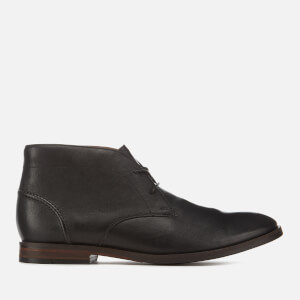 Clarks Men's Glide Leather Chukka Boots - Black
