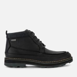 Clarks Men's Korik Rise GORE-TEX Leather Lace Up Boots - Black