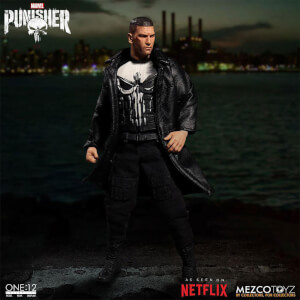 Figurine Punisher One: 12 Collective - Marvel