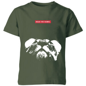 My Little Rascal Hear Me Rawr. Kids' T-Shirt - Forest Green from I Want One Of Those