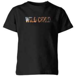 My Little Rascal Wild Child Kids' T-Shirt - Black