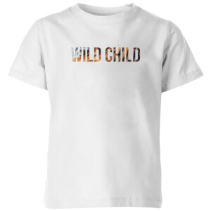 My Little Rascal Wild Child Kids' T-Shirt - White