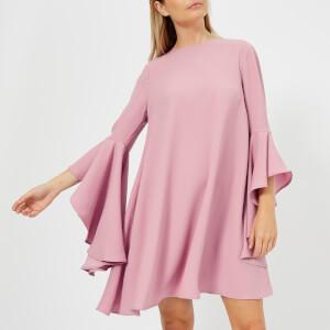 Ted Baker Women's Ashleyy A Line Waterfall Sleeve Dress - Dusky Pink