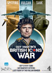 Guy Martin's British Icons of War - Boxset (Vulcan/Spitfire/Tank)