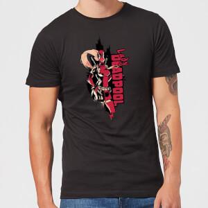 T-Shirt Homme Deadpool Lady Deadpool Marvel - Noir