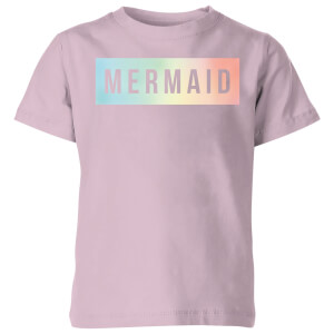 My Little Rascal Mermaid - Baby Pink Kids' T-Shirt