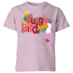 My Little Rascal Jungle Bird Baby Pink Kids' T-Shirt