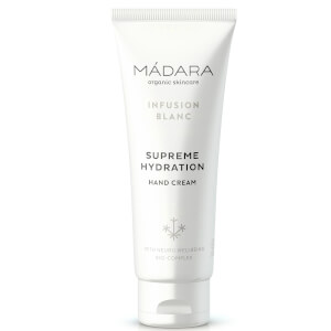 MÁDARA Infusion Blanc Supreme Hydration Hand Cream 75 ml