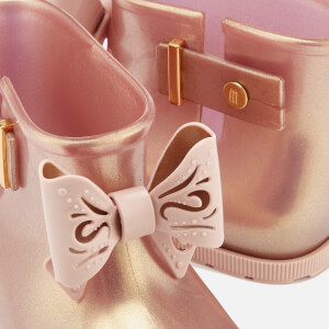 Mini Melissa Toddlers' Sugar Rain Fairy Boots - Rose Gold: Image 4