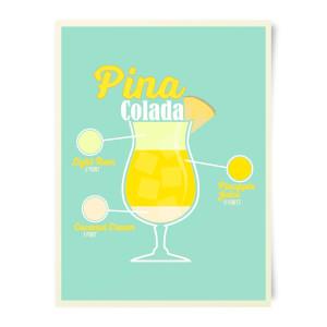 Pinacolada Art Print