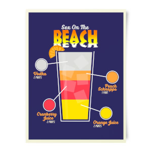 Sex On The Beach Art Print