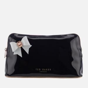 Ted Baker Women's Alley Bow Detail Wash Bag - Black