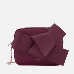 Ted Baker Women's Aamelia Giant Knot Camera Bag - Maroon