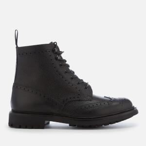 Church's Men's Mac Farlane 2 Grain Lace Up Boots - Black