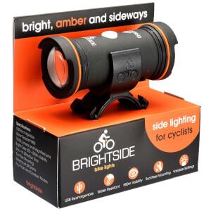 Brightside Side Facing LED Amber Bike Light