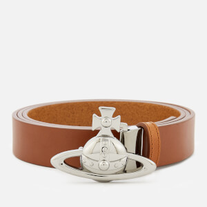 Vivienne Westwood Men's Orb Buckle Belt - Brown