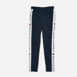 Tommy Hilfiger Girl's Brand Logo Leggings - Navy Blazer