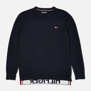 Tommy Hilfiger Boy's Relaxed Sweatshirt - Black Iris