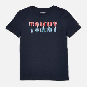 Tommy Hilfiger Boy's Essential Tommy Jeans T-Shirt - Black Iris