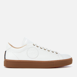 Vivienne Westwood MAN Men's Leather Derby Trainers - White