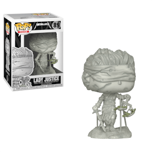 Pop! Rocks Metallica Lady Justice Funko Pop! Figuur