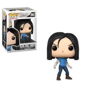 Alita: Battle Angel Alita Doll Body Funko Pop! Figuur
