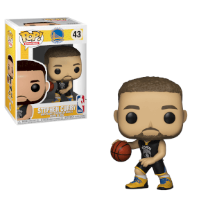 NBA Warriors Stephen Curry Pop! Vinyl Figure