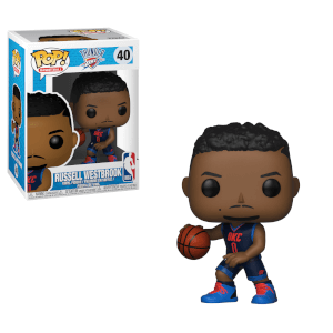 Figurine Pop! NBA Thunder Russell Westbrook