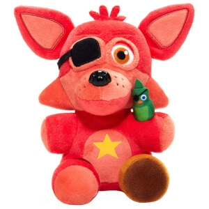 Peluche Funko Supercute Rockstar Foxy - Five Nights At Freddy's Pizza Simulator