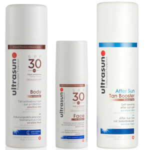 Ultrasun Ultimate Tanning Bundle (Worth £80)