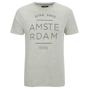 Threadbare Men's Amsterdam T-Shirt - Ecru Marl