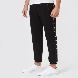 Emporio Armani Men's Tape Detail Jog Pants - Black