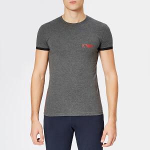 Emporio Armani Men's Ea Logo T-Shirt - Grey