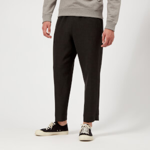 KENZO Men's Cropped Trousers - Anthracite