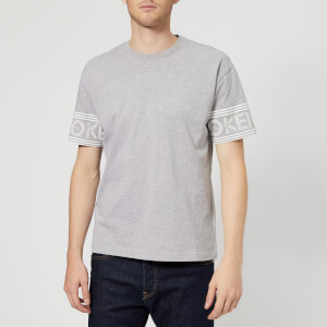 KENZO Men's Sleeve Logo Short Sleeve T-Shirt - Grey