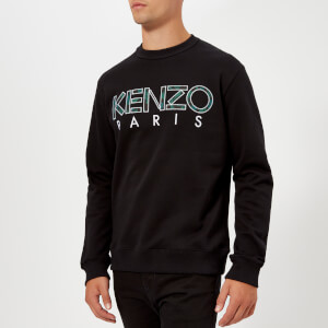 KENZO Men's Paris Logo Sweatshirt - Black
