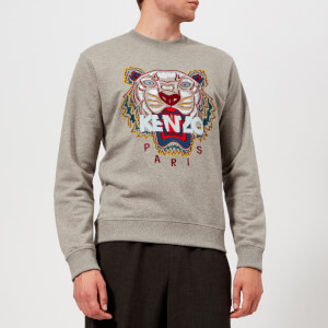 KENZO Men's Classic Tiger Sweatshirt - Dove Grey