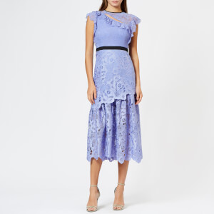 Three Floor Women's Countess Dress - Periwinkle