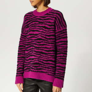Marc Jacobs Women's Knit Sweater - Magenta Multi