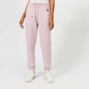 KENZO Women's Light Cotton Molleton Trackpants - Pastel Pink