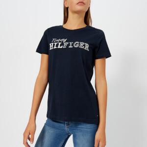 Tommy Hilfiger Women's Effy Crew Neck T-Shirt - White