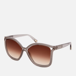 Chloe Women's Rita Acetate Sunglasses - Grey: Image 2