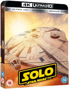 Solo: A Star Wars Story 4K Ultra HD (Inkl. 2D Version) - Zavvi Exklusives Limited Edition Steelbook