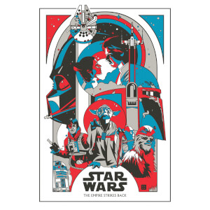 "Lithographie Star Wars Solo ""Energy Binds Us"" par Danny Haas (46 cm x 61 cm) Exclusivité Zavvi UK"
