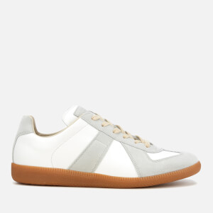 Maison Margiela Men's Replica Low Top Trainers - Off White
