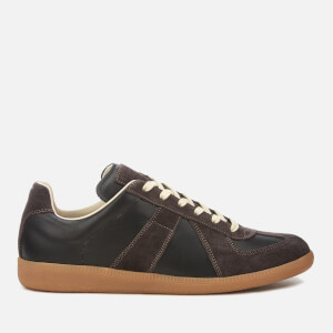 Maison Margiela Men's Replica Low Top Trainers - Black