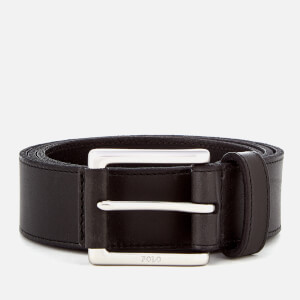 Polo Ralph Lauren Men's Casual Leather Belt - Black