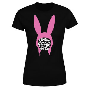 Bobs Burgers I Smell Fear On You Women's T-Shirt - Black