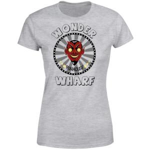 Bobs Burgers Wonder Wharf Fun House Women's T-Shirt - Grey