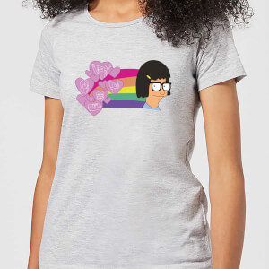 Bobs Burgers Tina's Thoughts Damen T-Shirt - Grau